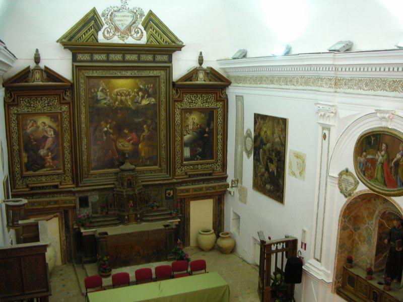 aula della Chiesa di san Francesco - sala convegni
